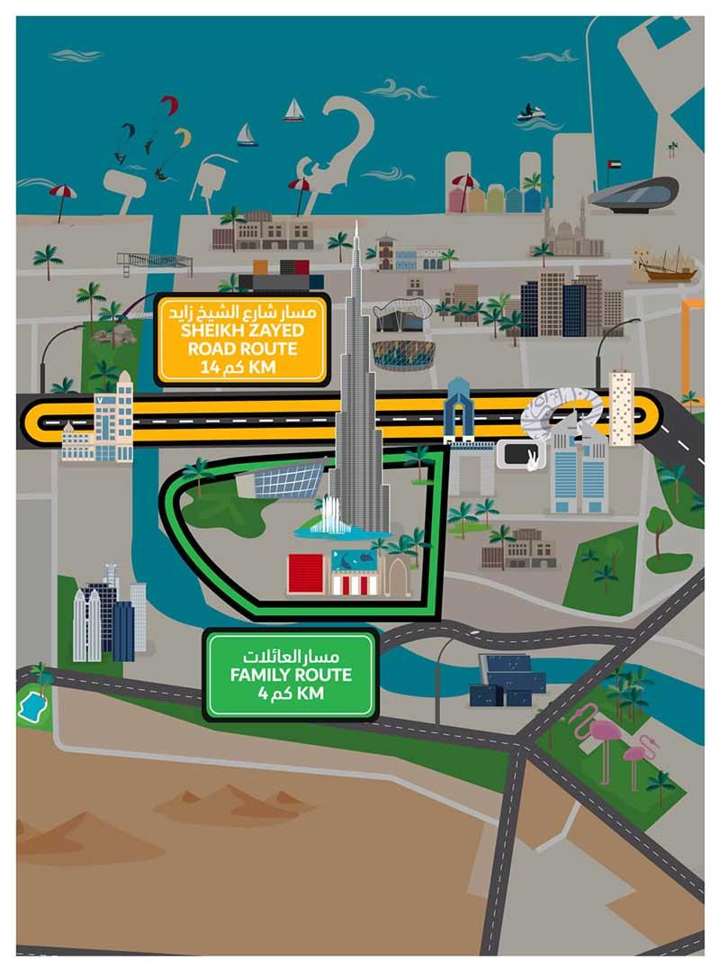Dubai Ride track