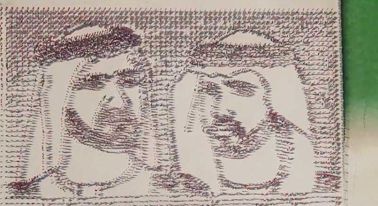 UAE Flag Day: 4,000 flags form portrait of Sheikh Mohammed, Sheikh Hamdan
