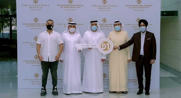Man wins Dh1.2 million Dubai apartment