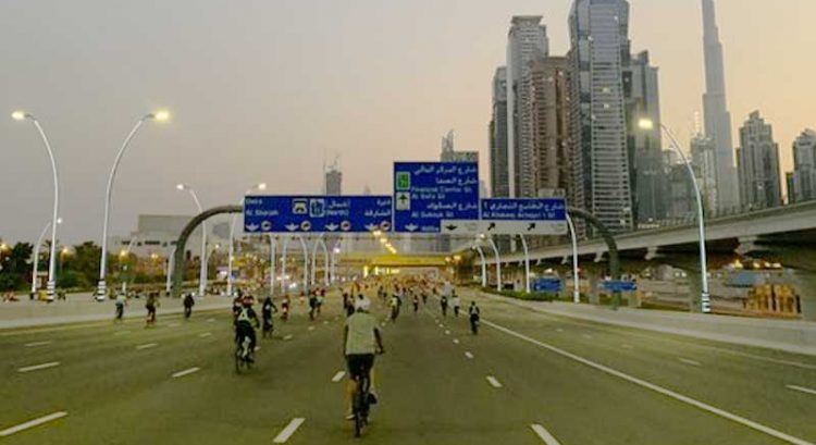 Dubai Ride: Thousands make history on Sheikh Zayed Road