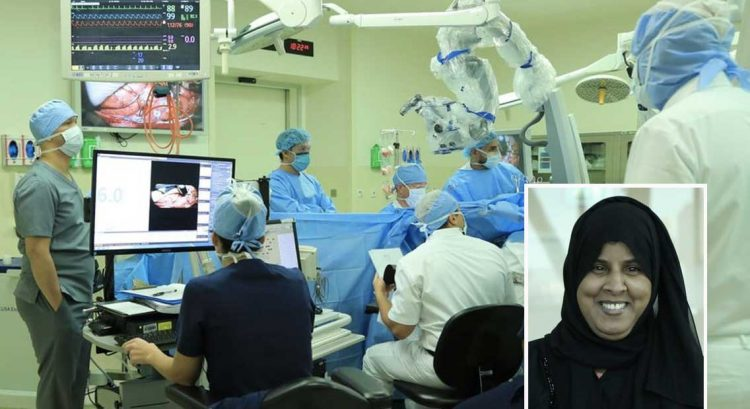 Emirati undergoes brain surgery while awake