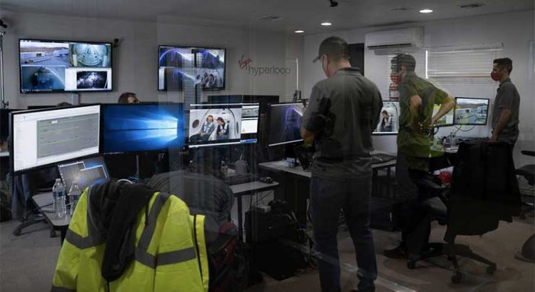 In video: First passengers travel on Hyperloop
