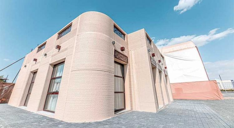 3D-printed house built in Sharjah with help of Dh1 million robot