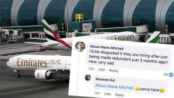 Emirates is hiring, but netizens are 'disgusted'