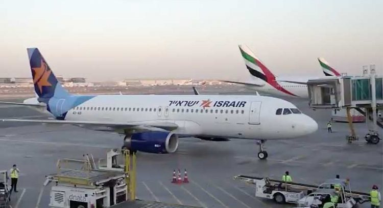 First Israeli commercial flight arrives in Dubai
