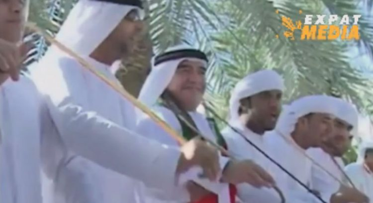 Watch: Diego Maradona's last UAE National Day celebration