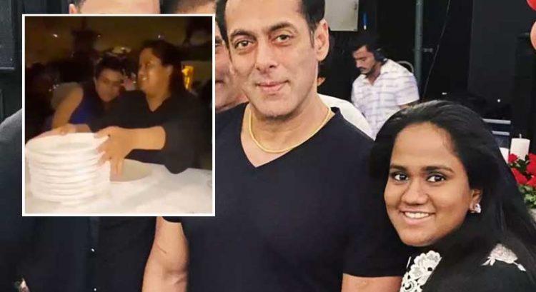 Why did Salman Khan's sister smash plates in Dubai?