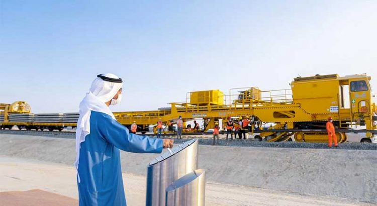 UAE railway construction begins from Ruwais to Saudi Arabia