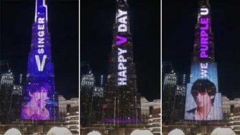 How much did fans of BTS star Kim Taehyung spend on Burj Khalifa ad?