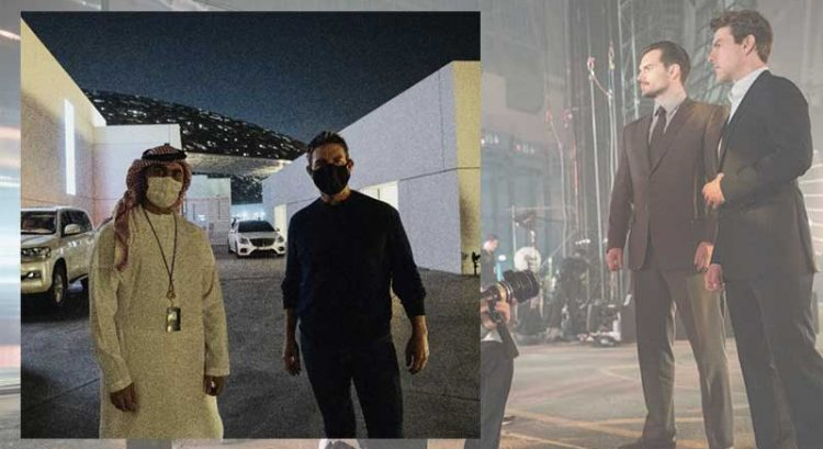 Tom Cruise spotted in Abu Dhabi again