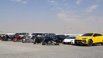 1,422 illegally modified vehicles seized in Dubai