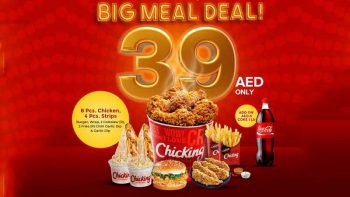 20 items for Dh39 in Chicking big meal deals