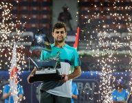 Karatsev defeats Harris to win Dubai tennis championships