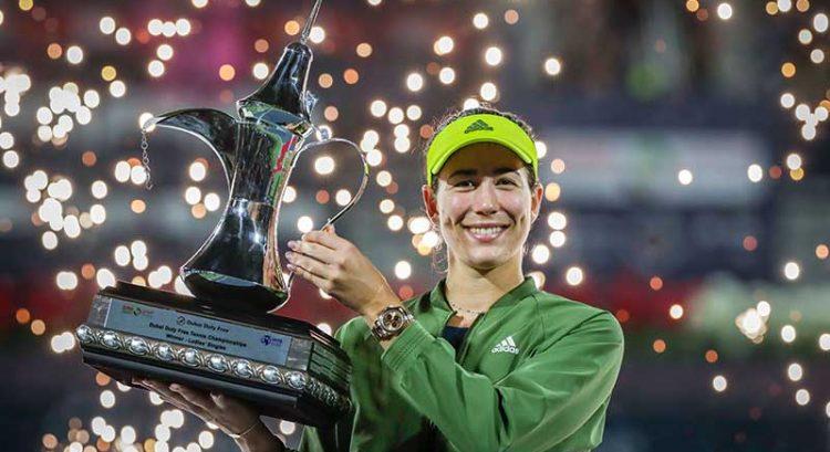 Muguruza beats Krejcikova to win Dubai tennis championships