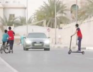 Emirati teen critically injured after car crashes into e-scooter