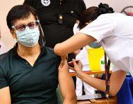 Manila begins Covid-19 vaccination