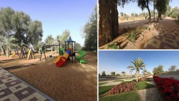 Al Hayer Oasis: New park opens in Al Ain