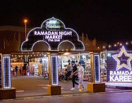 Ramadan night market opens in Dragon Mart