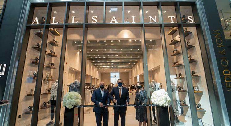ALLSAINTS opens at The Dubai Mall