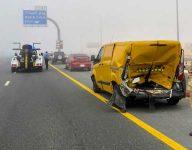 28-car pile-up on Dubai Emirates Road leaves 1 injured