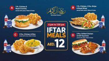 Chicking launches Ramadan iftar meals for Dh12