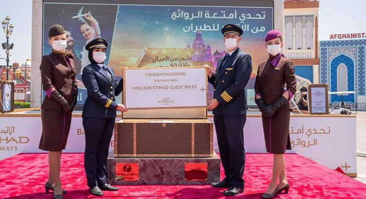 Open this travel trunk at Global Village and win Dh50,000