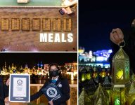 Global Village creates 23rd new world record with lanterns