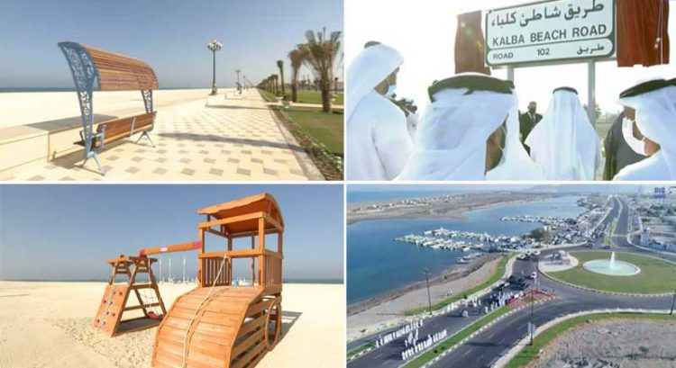 New Kalba Beach Corniche opens in Sharjah