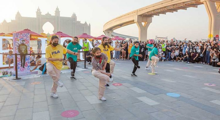 BTS mania in Dubai: street dance takeover at The Pointe