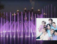 BTS song takes over Dubai The Palm Fountain show