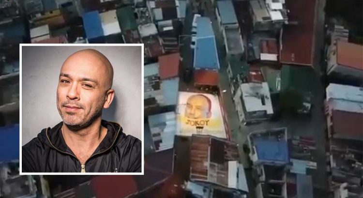 Jo Koy 'tears up' over mural in Philippine basketball court