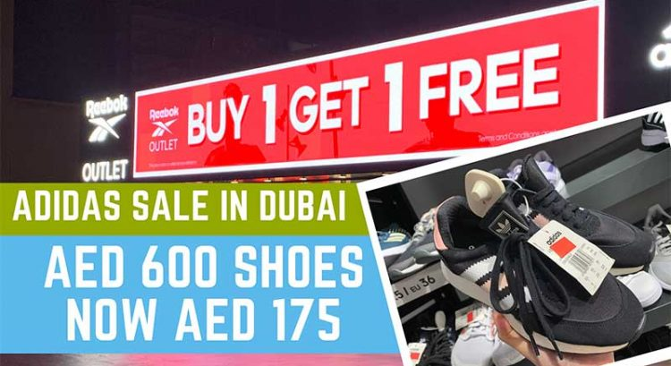 Buy 1 Get 1 on everything at Adidas outlet sale in Dubai