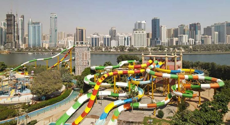 Sharjah Al Montazah Park reopens Pearl Kingdom with new slides