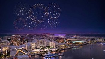 Yas Island fireworks to light up Eid Al Fitr