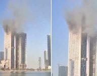 Fire breaks out in Sharjah building