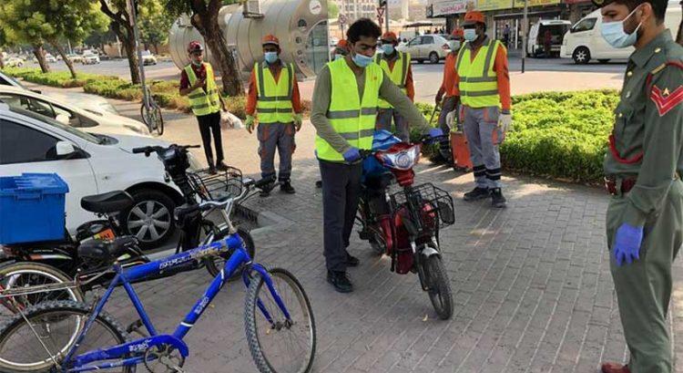 454 bicycles confiscated in Deira, Bur Dubai, Satwa, parts of Dubai
