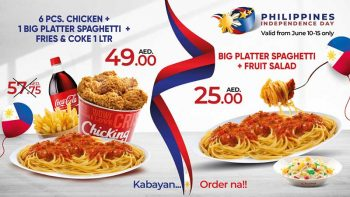 Chicking in UAE launches Philippine Independence Day deals