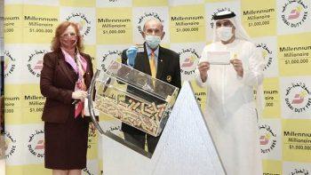 American wins $1 million in Dubai Duty Free draw