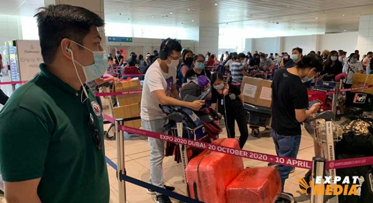Filipino repatriation flight from Dubai scheduled on June 30