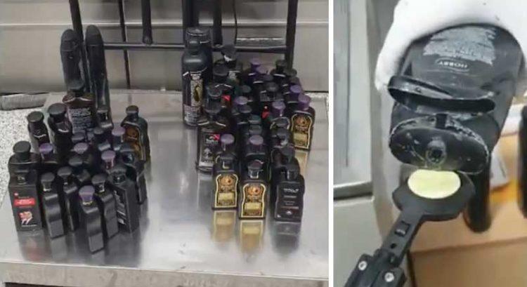 Heroin hidden in shampoo bottles on Dubai flight seized