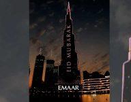 Burj Khalifa to light up for special Eid Al Adha show