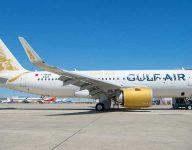 Gulf Air plane tail hit at Dubai International Airport
