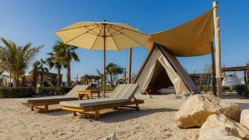 Beachside camping on Hudayriyat island for Dh59