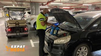 What to do if your car battery dies at Dubai Mall