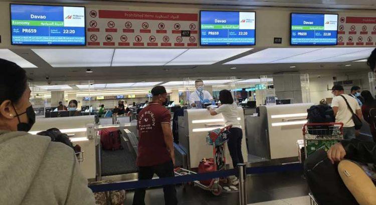 Dubai flight carrying stranded Filipinos lands in Davao