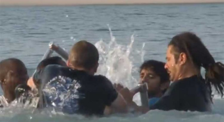 Sheikh Hamdan rescues friend after jetpack mishap
