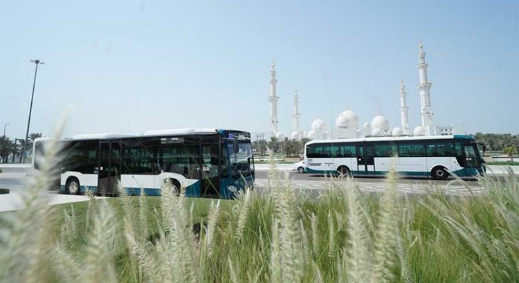 Now get live data of Abu Dhabi public buses on Google Maps