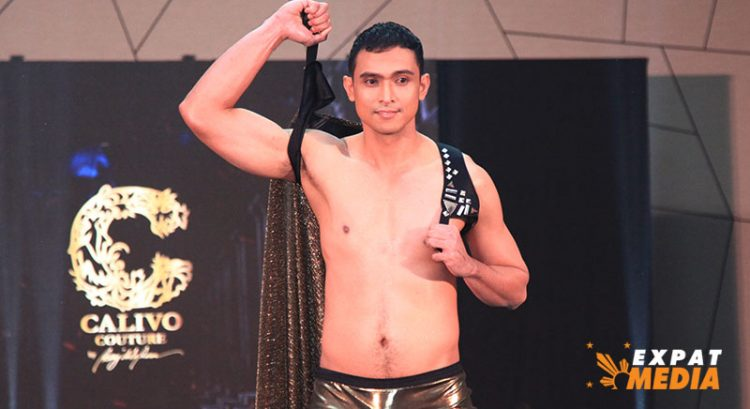 In pictures: Man of the Philippines UAE 2021 swimwear by Calivo Couture