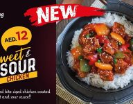 Chicking launches Dh12 Sweet and Sour Chicken
