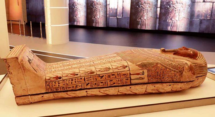 Ancient Egypt coffin arrives at Expo 2020 Dubai